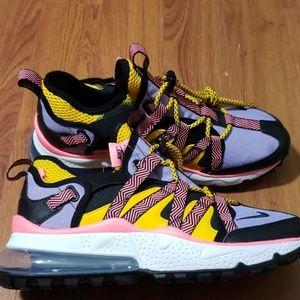 Nike Shoes - Nike Air Max 270 Bowfin Black/Black-Atomic Violet